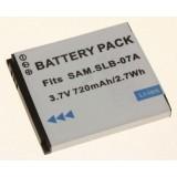 Akumuliatorius fotoaparatui Samsung SLB-07A 3,7V 720mAh