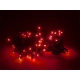 Lemputės kalėdų eglutei LED red 300vnt 24m