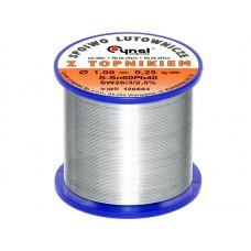 Lydmetalis 1,0mm 250g 60Sn/40Pb Cynel