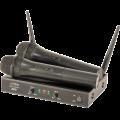 Belaidžių mikrofonų sistema PARTY-200UHF-MKII 863.1+864.8MHz