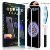 LCD apsauginis stikliukas Samsung G973 Galaxy S10 UV Touch ID Liquid Glass