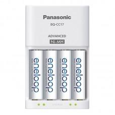 Akumuliatorių įkroviklis 220V AA/AAA + 4 elementai 1900mAh Panasonic Eneloop