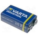 Elementas 9V HR6F22 6LR61 Varta Industrial Pro
