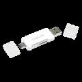 Atminties kortelių skaitytuvas USB3.0, USB-C, micro USB LogiLink