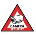 CCTV įspėjamasis lipdukas Konig