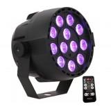 Šviesos efektas Ibiza Light PAR-MINI-RGB3 12x 3W RGB LED
