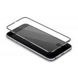 LCD apsauginis stikliukas iPhone 7 Tempered Glass silver lenktas
