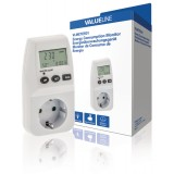 Elektros energijos suvartojimo matuoklis Valueline VLMETER01