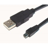 Laidas USB - USB mini 5-pin (1K-1K) 2m (Canon)