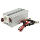 Įtampos keitiklis 12V -> 230V 300/600W HQ-INV300WU12F