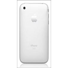 Galinis dangtelis IPHONE 3G baltas (HQ)