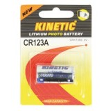 Elementas CR123A 3V Kinetic  LITHIUM