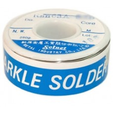 Lydmetalis 0,7mm 100g 63Sn/37Pb 1,8% fliuso Solnet