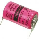 Ličio baterija 1/2 AA 3,6V 1200mAh Li-ion lituojama