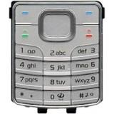 Klaviatūra Nokia 6500C silver HQ