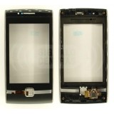 Touch screen Huawei U8500 with frame black originalas