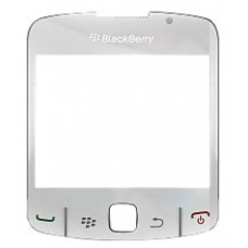 LCD stikliukas BlackBerry 8520 white originalas