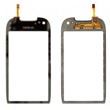 Touch screen Nokia C7 with/without frame black originalas