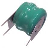 Akumuliatorius 2,4V 60mAh Ni-MH lituojamas
