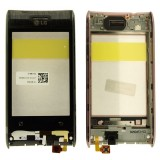LCD LG GT540 touch screen su rėmu (original)