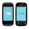 LCD LG GW620 touch screen su rėmu (original)