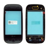 LCD LG GW620 touch screen su rėmu (original)