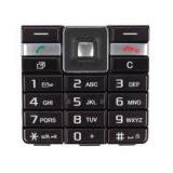 Klaviatūra Sony Ericsson J105 black HQ