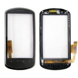Touch screen Huawei U8800 with frame black flex originalas
