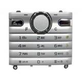 Klaviatūra Sony Ericsson S312 silver originalas