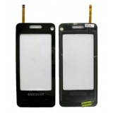 Touch screen Samsung F490 black originalas