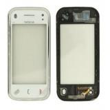 Touch screen Nokia N97 mini with frame white originalas