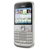 Korpusas Nokia E5 silver HQ