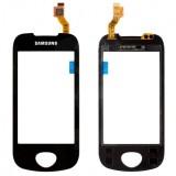 Touch screen Samsung i5801 black originalas