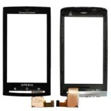 Touch screen Sony Ericsson Xperia X10 with frame black originalas