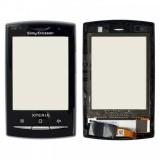 Touch screen Sony Ericsson X10 mini Pro (U20) black originalas