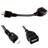 Perėjimas OTG USB micro-USB (K-L)