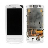 LCD+Touch screen Nokia 700 white originalas