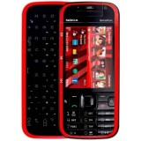 Korpusas Nokia 5730 black/red HQ