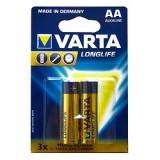 Elementas AA LR6 1,5V VARTA LONGLIFE