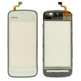 Touch screen Nokia 5230 white originalas
