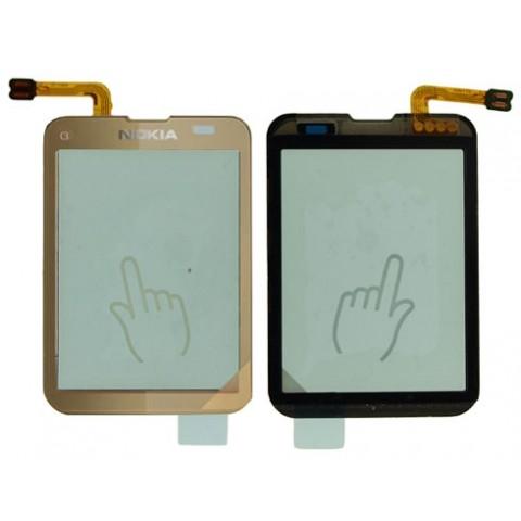 Touch screen Nokia C3-01 gold originalas