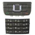 Klaviatūra Nokia E66 black HQ