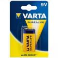 Elementas 9V 6F22 6LR61 Varta Superlife
