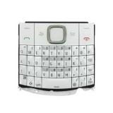 Klaviatūra Nokia X2-01 white HQ