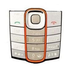 Klaviatūra Nokia 2600c silver HQ