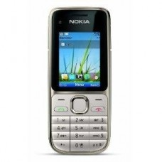 Korpusas Nokia C2-01 silver HQ