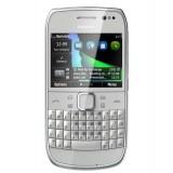 Korpusas Nokia E6 silver HQ
