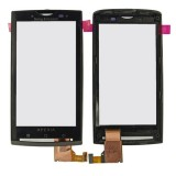 Touch screen Sony Ericsson X10 with frame black HQ