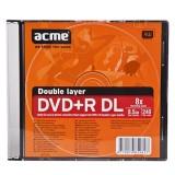 Įrašomas dvisluoksnis diskas Acme DVD-R DL 8,5GB 8x