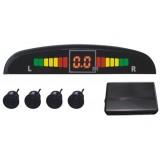 Parkavimo sistema PAS104A 4 davikliai, LED ekranas